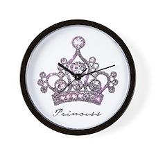 """Princess"" Wall Clock"