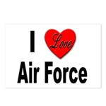 I Love Air Force Postcards (Package of 8)