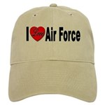 I Love Air Force Cap