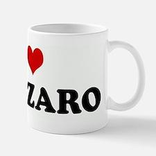I Love LAZARO Mug