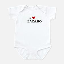 I Love LAZARO Infant Bodysuit
