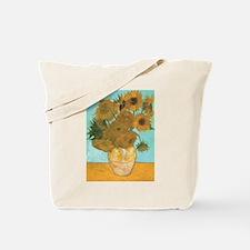 Van Gogh Vase with Sunflowers Tote Bag