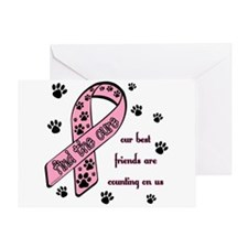 Pawprint Greeting Card