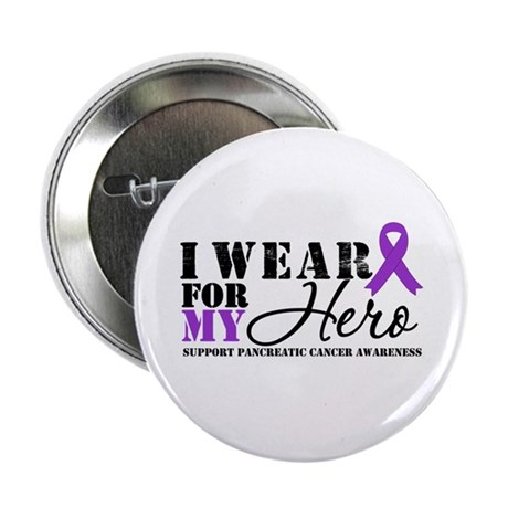 "Pancreatic Cancer Hero 2.25"" Button (100 pack)"