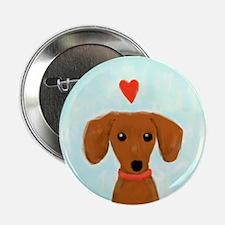 "Dachshund Love 2.25"" Button"