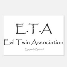 Evil Twin Association Postcards (Package of 8)
