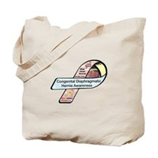 Ethan Moloney CDH Awareness Ribbon Tote Bag