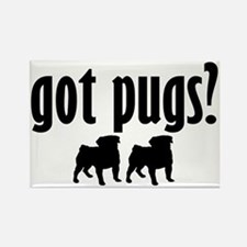 Got Pugs? (2) Rectangle Magnet