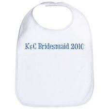 K&C Bridesmaid 2010 Bib