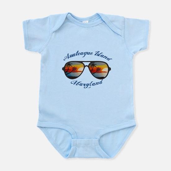 Maryland - Assateague Island Body Suit