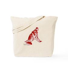 Snow boarder Tote Bag