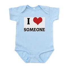 I Love Someone Infant Creeper