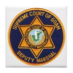 Guam Marshal Tile Coaster