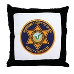Guam Marshal Throw Pillow