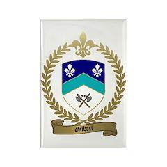 GILBERT Family Crest Rectangle Magnet