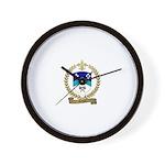 GILBERT Family Crest Wall Clock
