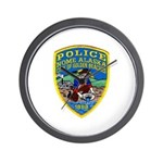 Nome Police Wall Clock
