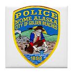 Nome Police Tile Coaster