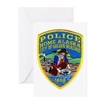 Nome Police Greeting Cards (Pk of 10)
