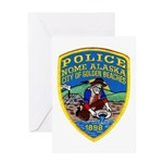 Nome Police Greeting Card