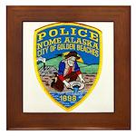 Nome Police Framed Tile
