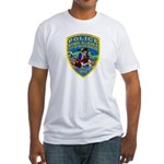 Nome Police Fitted T-Shirt
