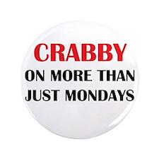 """CRABBY 3.5"""" Button"""