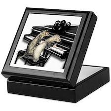Ferrets Playing Piano Keepsake Box