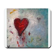 Bleeding Heart Mousepad