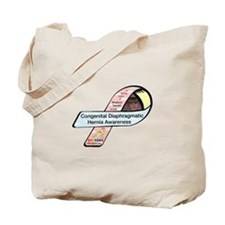 Madison Newell CDH Awareness Ribbon Tote Bag