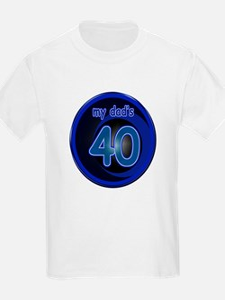 Dad's 40th Bday T-Shirt