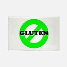 Cute Gluten free Rectangle Magnet (10 pack)