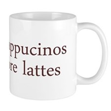 Give Up Cappucino Mug