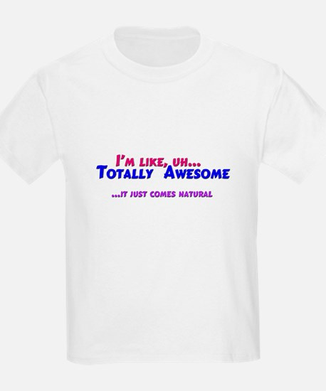 Totally Awesome (blue/red) T-Shirt
