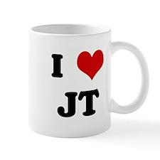 I Love JT Mug