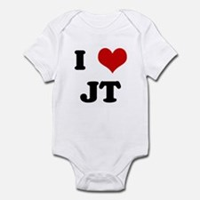 I Love JT Infant Bodysuit
