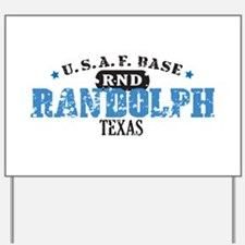 Randolph Air Force Base Yard Sign