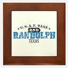Randolph Air Force Base Framed Tile