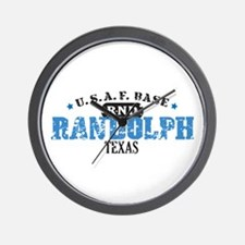 Randolph Air Force Base Wall Clock