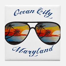 Maryland - Ocean City Tile Coaster