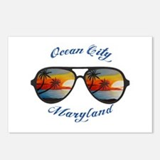 Maryland - Ocean City Postcards (Package of 8)