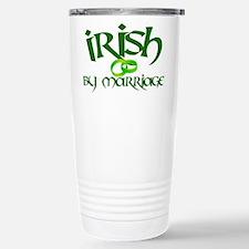 Irish by Marriage - Stainless Steel Travel Mug