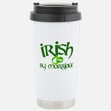 Irish by Marriage - Travel Mug
