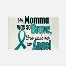 Angel 1 TEAL (Momma) Rectangle Magnet