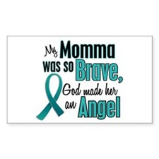Angel 1 TEAL (Momma) Rectangle Decal
