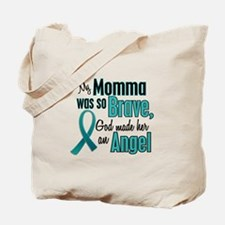 Angel 1 TEAL (Momma) Tote Bag