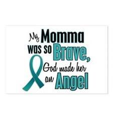 Angel 1 TEAL (Momma) Postcards (Package of 8)