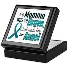 Angel 1 TEAL (Momma) Keepsake Box