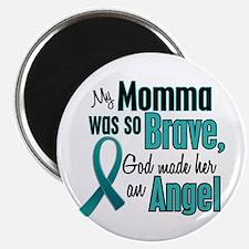 "Angel 1 TEAL (Momma) 2.25"" Magnet (10 pack)"