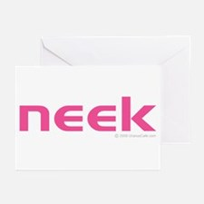 pink neek Greeting Cards (Pk of 10)
